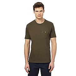 Ben Sherman - Big and tall khaki pocket t-shirt