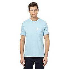 Ben Sherman - Big and tall light blue pocket t-shirt