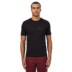 Ben Sherman - Big and tall black pocket t-shirt