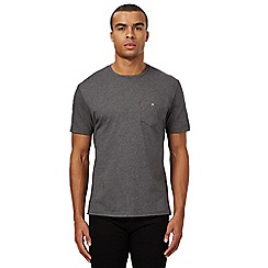 Ben Sherman - Big and tall grey pocket t-shirt