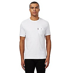Ben Sherman - Big and tall white pocket t-shirt