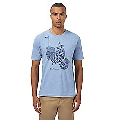 Ben Sherman - Blue scooter graphic print t-shirt