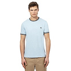 Fred Perry - Light blue tipped t-shirt