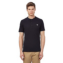 Fred Perry - Navy granddad top