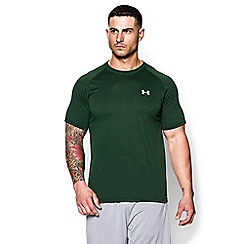 Under Armour - Navy logo print t-shirt