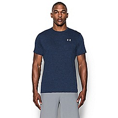 Under Armour - Blue logo print t-shirt