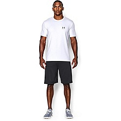Under Armour - White 'Charged Cotton«' sportstyle t-shirt