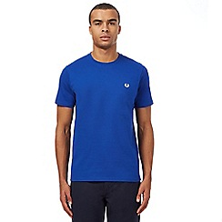 Fred Perry - Blue crew neck t-shirt