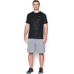 Under Armour - Black 'Tech ' patterned t-shirt