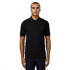 Fred Perry - Black twin tipped polo shirt