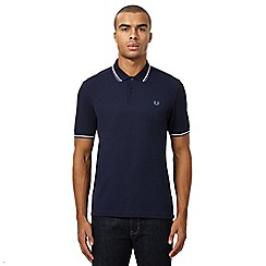 Fred Perry - Blue twin tipped polo shirt