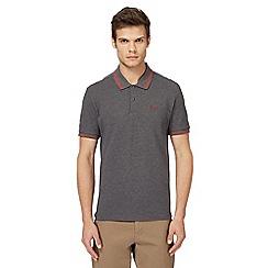 Ben Sherman - Grey tipped polo shirt