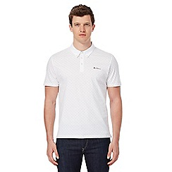 Ben Sherman - White polo top