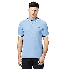 Fred Perry - Baby blue polo shirt