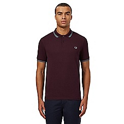 Fred Perry - Dark purple polo shirt