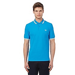Fred Perry - Blue tipped polo shirt