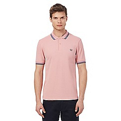 Fred Perry - Pink tipped polo shirt