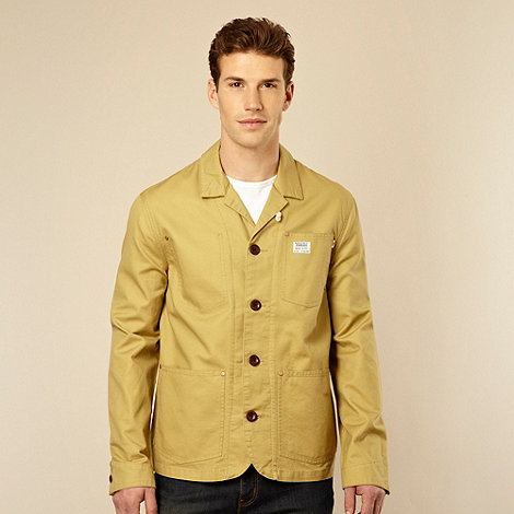 Farah 1920 - Dark yellow +Work Wear+ canvas jacket