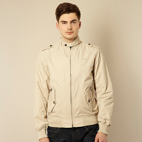Schott - Natural slim harrington jacket