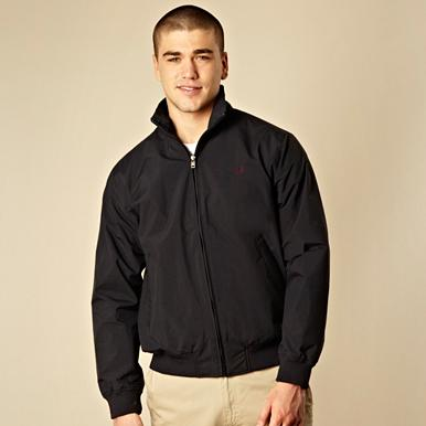 Fred Perry navy sailing jacket