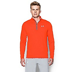 Under Armour - Orange zip hoodie
