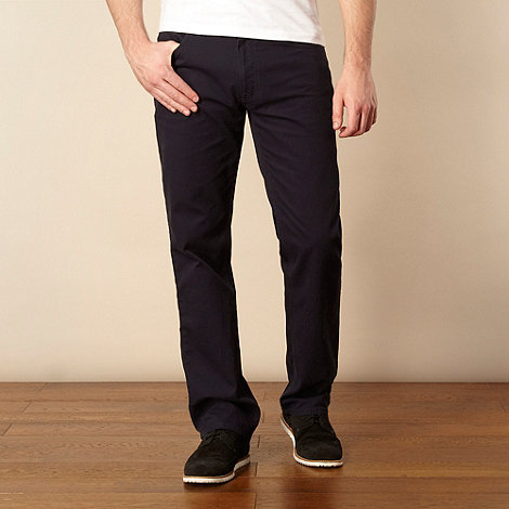 Ben Sherman - Navy cord trousers