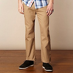 Ben Sherman - Beige straight leg cords
