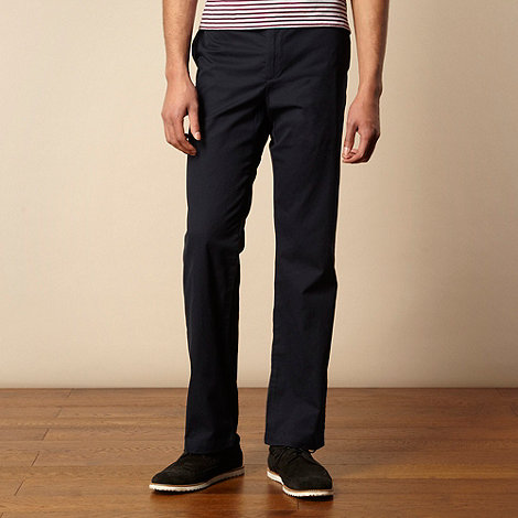 Ben Sherman - Navy straight leg chinos