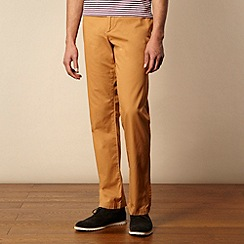 Ben Sherman - Tan straight leg chinos