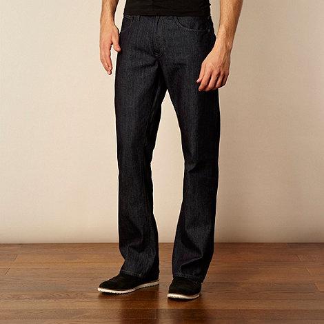Ben Sherman - Dark blue bootcut jeans