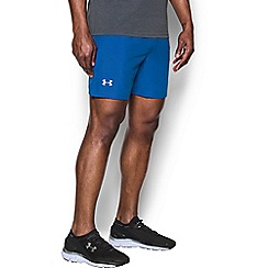 Under Armour - Black logo print shorts