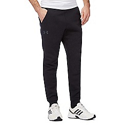 Under Armour - Black logo print joggers