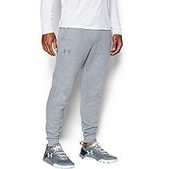 Under Armour - Grey logo print joggers
