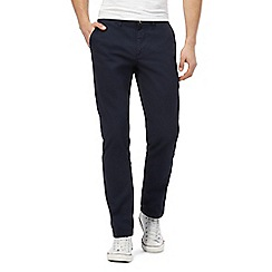 Ben Sherman - Navy regular fit chinos