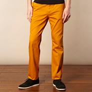 Fred Perry mustard chinos