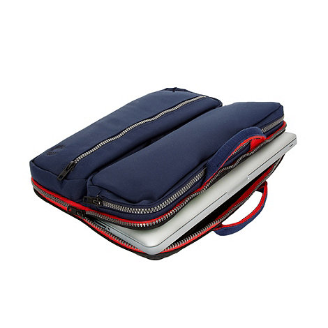 Fred Perry - Navy laptop case