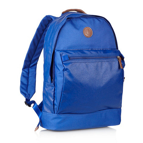 Fred Perry - Blue coated backpack