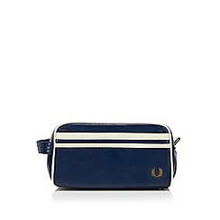 Fred Perry - Navy 'Classic' wash bag