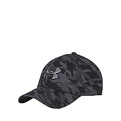 Under Armour - Black blitzing stretch fit baseball hat