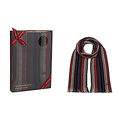 RJR.John Rocha - Multi-coloured stripe scarf in a gift box