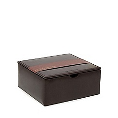 RJR.John Rocha - Brown watch and cufflink box