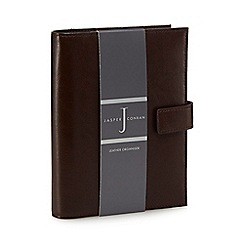 J by Jasper Conran - Brown leather organiser