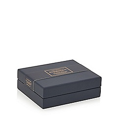 Hammond & Co. by Patrick Grant - Brown leather wallet in a cufflinks box with data protection