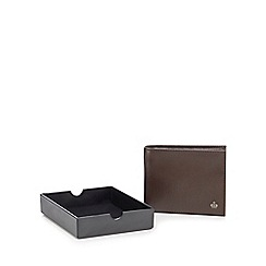 Jeff Banks - Brown leather wallet in a gift box