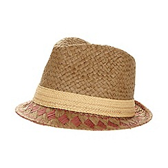 Mantaray - Brown patterned trilby