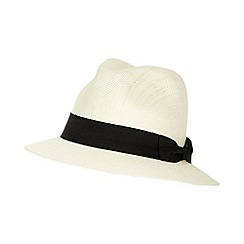 Osborne - Natural black band trilby