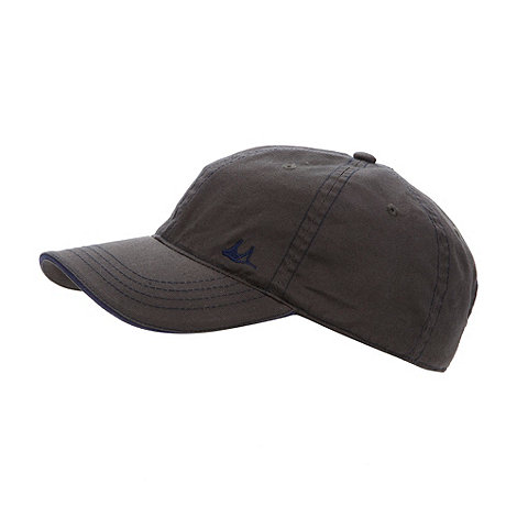 Mantaray - Grey stitch logo trim cap