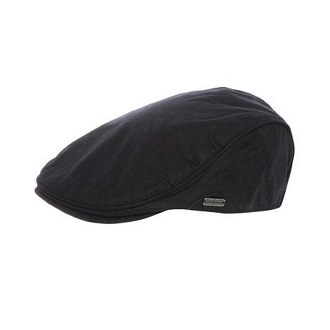 J by Jasper Conran - Designer black woven flat cap
