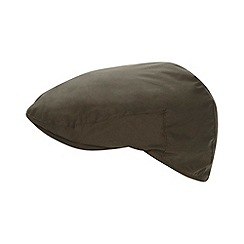 Maine New England - Khaki shower proof flat cap