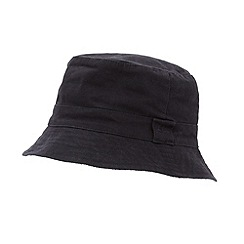 Mantaray - Navy reversible Hawaiian bucket hat